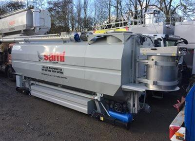 1 off Ex-hire HYDROMIX / SAMI Eurosilo SPF32/DE Low-Level Transportable Cement Silo (2018)