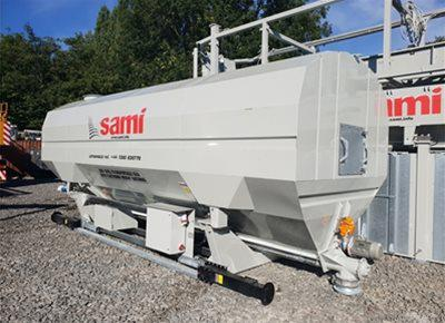 1 off Ex-Hire HYDROMIX / SAMI Eurosilo SPF32/DE-B Low Level Transportable Silo (2018)
