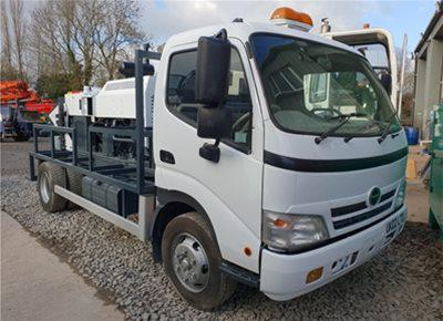 1 off Used HINO / HYDROPUMP model LS600 Concrete Line Pump (2016)