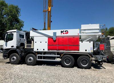 1 off New HYDROMIX / KIMERA model K9 Mobile Volumetric Batching Plant (2019)