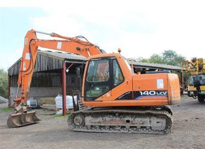 1 off Used DOOSAN model 140LC-V Excavator (2005)