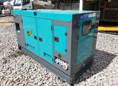 1 off Ex-hire ASHITA model AG-40 40kVA Super Silent Generator (2018)