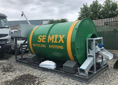 New HYDROMIX / SEMIX model SMRC10 Concrete Recycling System (2019)