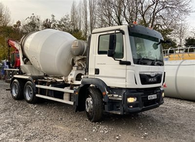 1 off Used MAN / PUTZMEISTER (INTERMIX) model IMI 6.1 UL 6/7m3 Concrete Mixer (2016)