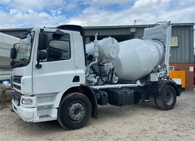 1 off Used DAF / HYDROMIX SRY350G Self-Loading Concrete Truck Mixer (2006 / 2004)