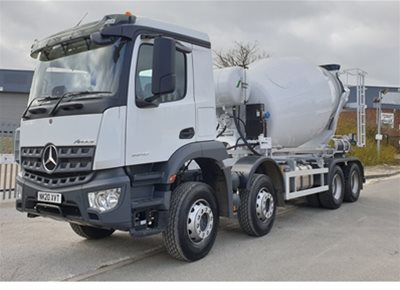 4 off New Mercedes / SCHWING-STETTER AM8FHCLL 8m3 Standard Transit Concrete Mixers